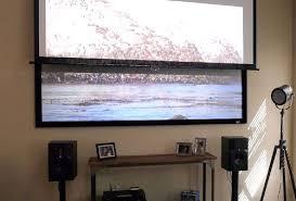 projection screens amazon com amazon com elite screens 110 inch 16 9 sableframe ambient light