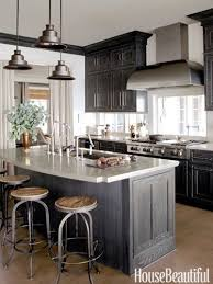 Best  Gray Stained Cabinets Ideas Only On Pinterest Grey Wood - Black stained kitchen cabinets