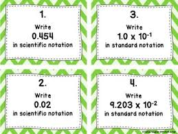 notation with very small numbers task cards and practice worksheets