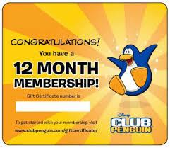 club penguin gift card free club penguin membership caity12 s club penguin cheats