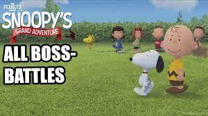 peanuts movie snoopy u0027s grand adventure bosses
