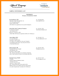 Reference Page Template Resume 13 Reference List For Resume Apgar Score Chart