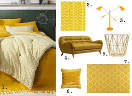 jeté de canapé jaune miroir eclat moderne