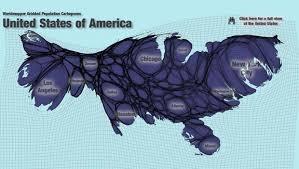 united states population map ballooning population maps skyscrapercity