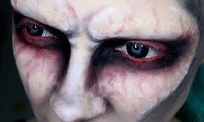 creepy demonic makeup tutorial youtube