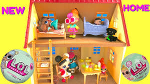 lol surprise dolls lill sisters babies get a new house fizzy toy