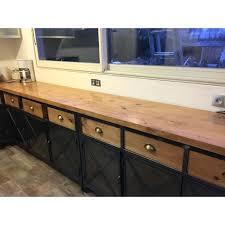 meuble cuisine acier meuble de cuisine industriel impressionnant meuble cuisine acier