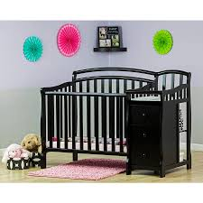 Crib And Change Table Combo by Sorelle Tuscany 4 In 1 Convertible Crib U0026 Changer Combo Cherry