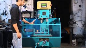 pneumatic double spindle drilling u0026 tapping machine with chips