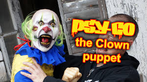 clown puppets for sale psy co the attack clown puppet you wear to scare