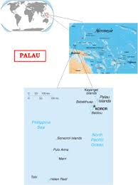 Micronesia Map Palau The One That Got Away