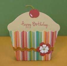 cupcake birthday card my blog