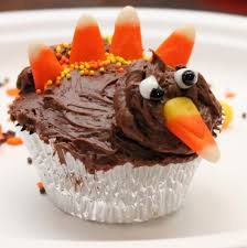 thanksgiving recipe idea betty crocker turkey cupcakes