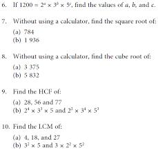 least common multiple worksheets worksheets
