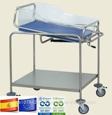 hospital plastic crib for newborn with trendelenburg high quality