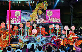 Lunar New Year Decoration Singapore by Chinatown Chinese New Year Celebrations 2017