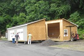 garages with apartments on top buy amish storage sheds and prefab garages add space for life