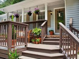 Wooden Decks And Patios Fabulous Front Yard Decks And Patios Hgtv