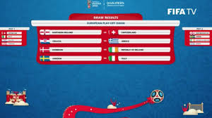 Irish Flag Vs Italian Flag World Cup Play Off Draw Northern Ireland Face Switzerland