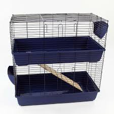 Rabbit And Guinea Pig Hutches Large Indoor Rabbit Hutch Blue Amazon Co Uk Pet Supplies