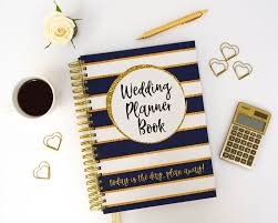 wedding book planner etsy wedding planner book engagement gift to be present