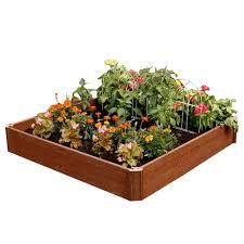 raised garden beds garden center the home depot