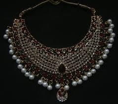 rhinestone necklace sets wholesale images Bridal jewelry wholesaler wedding jewellery exporter JPG