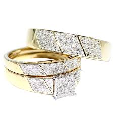 cheap his and hers wedding ring sets jewelry rings his and hers wedding rings white goldhis sets
