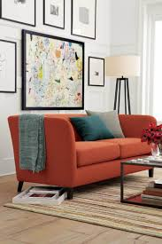 canap orange tendance déco alerte vieux vieux accoudoir et fauteuils