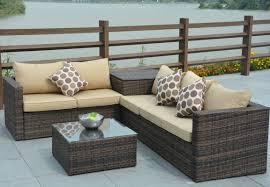 directwicker jasmine 4 piece deep seating group with cushion