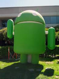 android statues jelly bean android statue back in waving jelly beans