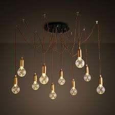 Cable Pendant Lighting Free Shipping Led Pendant Light 6 Or 12 Lights G9 Led Bulb Twist