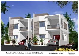 Semi Detached Home Design News Duplex House Designs In Hyderabad Arch Semi Detached U0026 Row