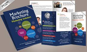 brochure design templates for education 15 free corporate bifold and trifold brochure templates free