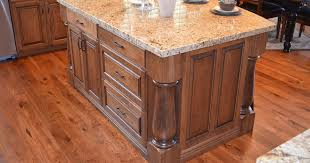 corner kitchen cabinet island 1805fdmcwooded3 kitchen island corner columns link preview