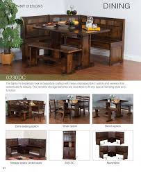 Breakfast Nook Dining Set by Prices U2022 Sunny Designs Santa Fe Breakfast Nook Dining Furniture