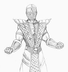 mortal kombat drawings bing images coloring pages for adults