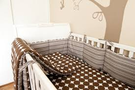 Dwell Crib Bedding Brown Dot Crib Bedding By Dwell Studios Nursery Room Ideas