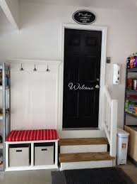 Outside Entryway Decor Roundup 6 Inspiring Impromptu Garage Mudrooms Doors House And