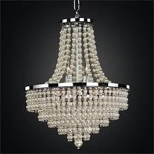 and pearl chandelier pearl chandelier empire style chandelier cava 639 glow lighting