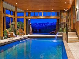 pool inside house houses with pools inside country home design ideas