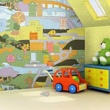 Mural Kids Room Interiors Design