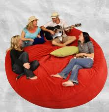 Oversize Bean Bag Chairs Giant Bean Bag Bed Funny Eastsacflorist Home And Design