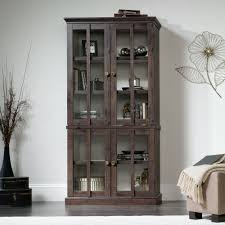 Tall Storage Cabinet New Grange Tall Display Cabinet 419065 Sauder