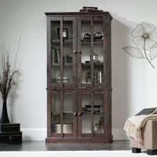 new grange tall display cabinet 419065 sauder
