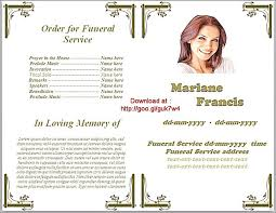 program for a memorial service memorial service program template admirable photo funeral obituary