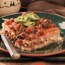 Meat Lasagna Recipe With Cottage Cheese by Venison Tortilla Lasagna Recipe Taste Of Home