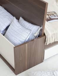 coffre de chambre coffre de rangement design 160 cm accessoires design pour