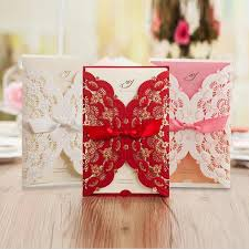 cards for marriage 2016 new style flower wedding invitation card marriage pink