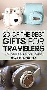 20 best gifts for travelers a gift guide for travel lovers